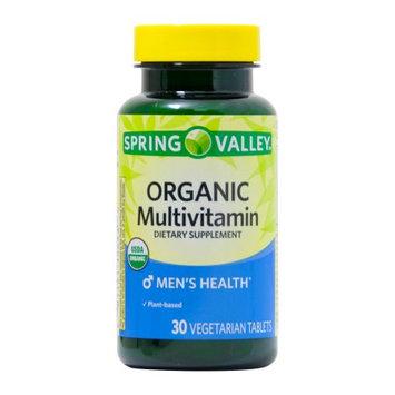 Lang Pharma Nutrition Spring Valley ORGANIC Men's Multivitamin 30ct