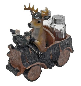 World Of Wonders Venison Seasons Deer Salt And Pepper Shaker