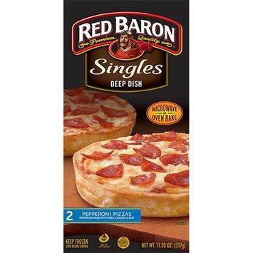 Red Baron Deep Dish Single Pepperoni Pizza, 12 Ounce -- 12 per case.