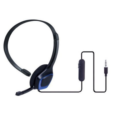 Onn ONA14MG013 Chat Headset for Playstation 4 - Over-the-Head - Binaural - Black