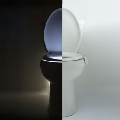 Illumibowl Never Fall Motion Activated Toilet Night Light