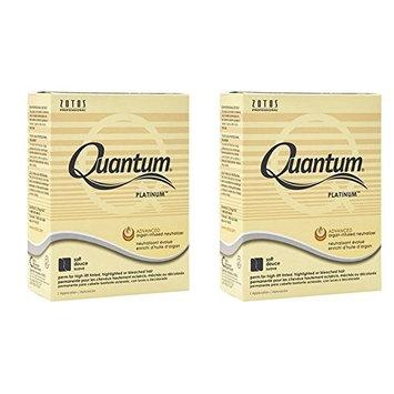 [ VALUE PACK OF 2] ZOTOS PERM QUANTUM PLATINUM ADVANCED ARGAN-INFUSED NEUTRALIZER (SOFT): Beauty