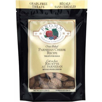 Fromm Four Star Nutrionals Fromm Four-Star Grain-Free Treats for Dogs, Parmesan, 8 oz