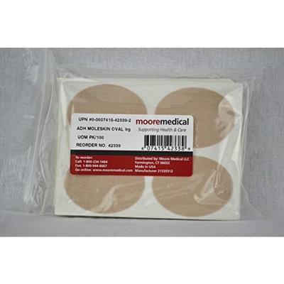 MooreBrand Moleskin Precut Pads Oval Large