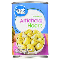 Great Value Artichoke Hearts, 6-8 Medium, 13.75 oz