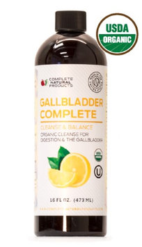 Complete Natural Products Gallbladder Complete 16oz - Natural Liquid Gallstones Cleanse & Sludge Formula
