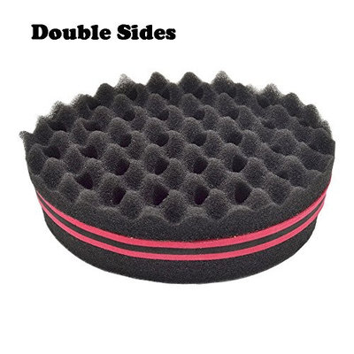 Brush sponge For Natural Hair Afro Curly Weave Dreads Sponge Magic Twist Hair