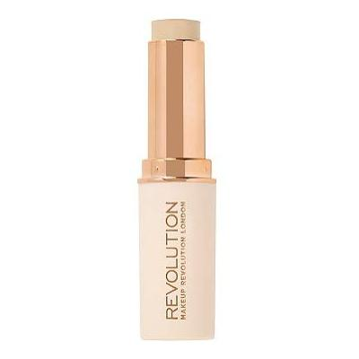 Makeup Revolution Fast Base Stick Foundation (for fair skin tones with pink undertone), pack of 1