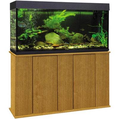 Marco 55 Gallon Upright Aquarium Stand, Brown