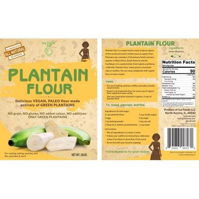 Iya Foods Llc Plantain Flour