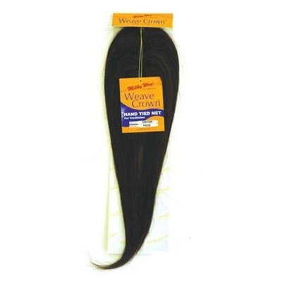 WEAVE CROWN - Shake N Go MilkyWay 100% Human Hair Closure #1B Off Black