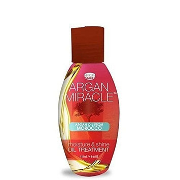 AFRICAN PRIDE ARGAN MIRACLE OIL TREATMENT 4 OUNCE MOISTURE & SHINE