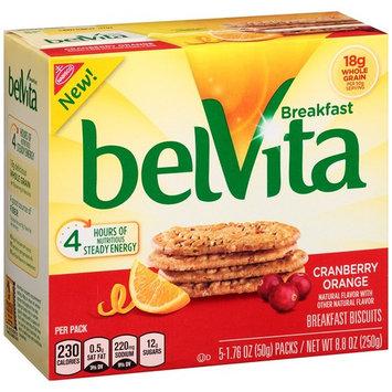 Nabisco belVita Breakfast Biscuits Cranberry Orange - 5 Count
