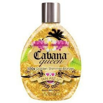 Tan Asz U CABANA QUEEN 100X Golden Shimmer Bronzer - 13.5 oz. by Brown Sugar