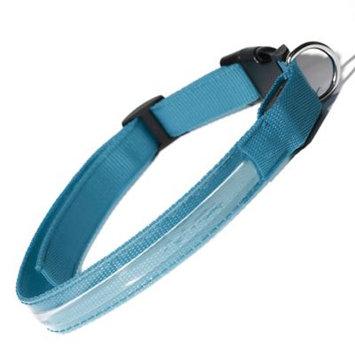 Oxgord PTCL-02-XL-BL Extra Large New Style Pet LED Collar - Blue