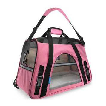 OxGord Comfortable Carrier Soft-Sided Pet Carrier (2014 Model - Newly Designed), Rose Wine