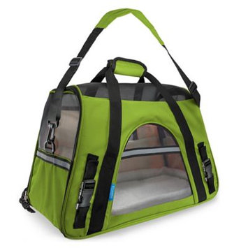 OxGord Small Comfortable Carrier Soft-Sided Pet Carrier (2014 Model - Newly Designed), Chartreuse