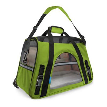 OxGord Large Comfortable Carrier Soft-Sided Pet Carrier (2014 Model - Newly Designed), Chartreuse
