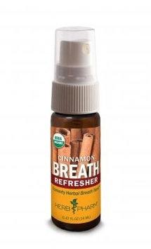 Breath Refresher Cinnamon Herb Pharm 0.47 oz Liquid