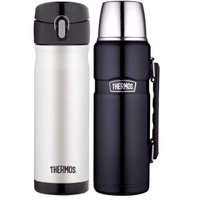 Thermos Insulated 16oz & 40oz Stainless Steel Beverage Bottle
