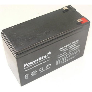 PowerStar AGM1275F2-53 PX12072 Battery Replacement by 12V, 7.5Ah