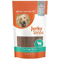 Only Natural Pet Venison Jerky Strips 6 oz