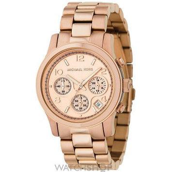 Michael Kors Rose Gold Stainless Steel Ladies Watch MK5128