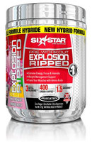 Six Star Pre-Workout Explosion Ripped Pink Lemonade