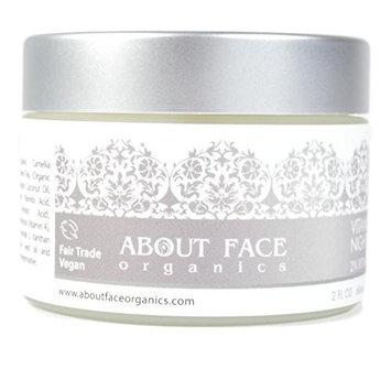 About Face Organic Vitamin A Night Cream 2% Retinol   80% Organic   Paraben & Cruelty Free   2 Oz