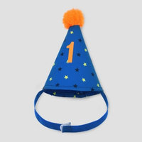 Baby Boys' Birthday Hat Headwrap - Just One You® made by carter's Blue One Size