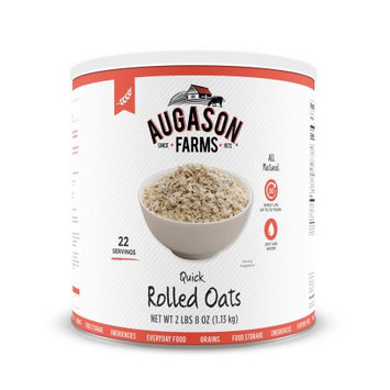 Augason Farms Quick Rolled Oats, 40 Oz