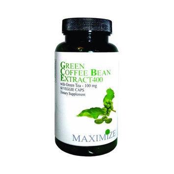 Maximum International Green Coffee Extract Green Tea- 60 Vcap