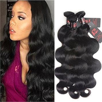 Resaca Peruvian Hair 3 Bundles Body Wave Remy Human Hair Weaves Weft Full Head Set 8A Real Virgin Peruvian Human Hair Extensions (14