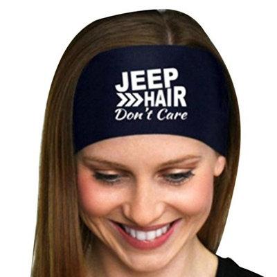 Syban Ladies Letter Sports Yoga Sweatband Gym Stretch Headband Hair Band