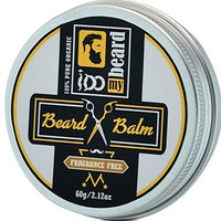 Deluxe Beard Balm 100% Pure Organic, Beard and Mustache Styling, Shaping, Grooming & Growth - Made in Canada