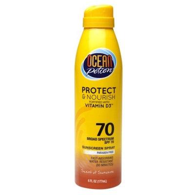 Ocean Potion Suncare Protect & Nourish Sunscreen Spray, SPF 70 6.0 fl oz