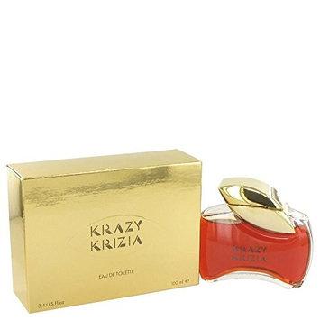 KRAZY KRIZIA by Krizia Women's Eau De Toilette 3.4 oz - 100% Authentic