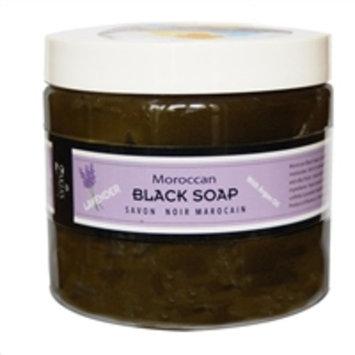 Moroccan Black Soap Lavender - 16 oz Value Size
