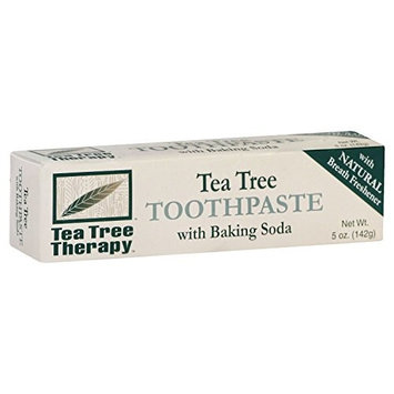 Tea Tree Therapy Toothpaste with Baking Soda 5 Oz (2 Pack)