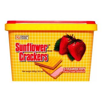 London Sunflower Cracker Strawberry, 800 Gram