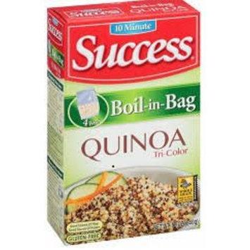 2 pack - Success 10 minute Boil-in-Bag Tri-Color Quinoa, Gluten Free, 12oz