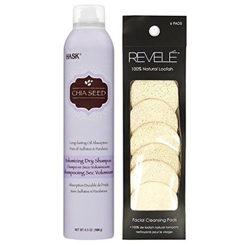 Hask Dry Shampoo Collections with Revele Facial Pad.