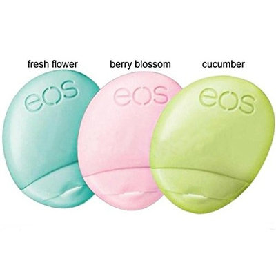 eos 2017 Limited Edition Holiday Collection 3-pack hand lotion [3-Pack Holiday Hand Lotion]