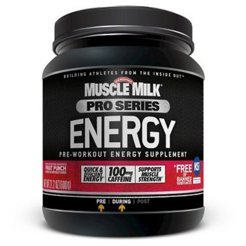 Muscle Milk® Pro Series Fruit Punch Pre-Workout Powder- 20 Servings