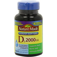 Nature Made Omega + Vitamin D Softgels, 200ct