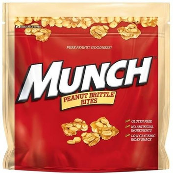 Munch, Peanut Brittle Bites, 14.8 Oz