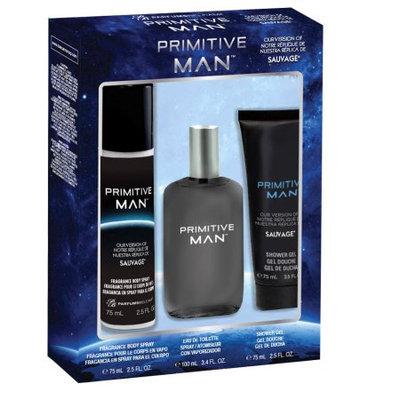 Belcam Inc Primitive Man, version of Sauvage, Fragrance Gift Set for Men, 3 pcs