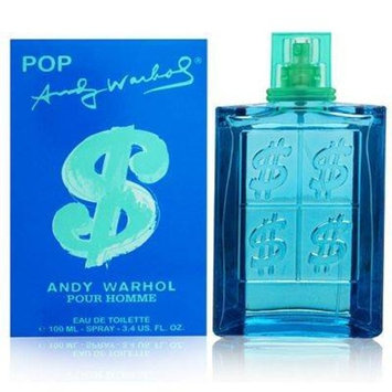 Andy Warhol Pop FOR MEN by Andy Warhol - 3.4 oz EDT Spray