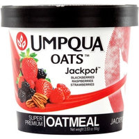 Umpqua Oats All Natural Premium Jackpot Oatmeal 2.53 oz. Cups 12-pack