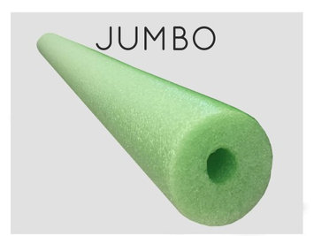 Oodles Of Noodles Oodles Monster 55 Inch x 3.5 Inch Jumbo Pool Noodle Foam Multi-Purpose LIME Green